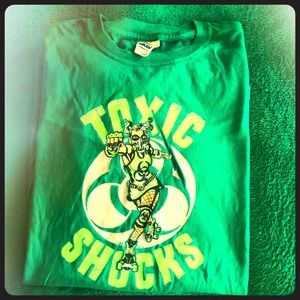 Atlanta Rollergirls Toxic Shocks Green Medium